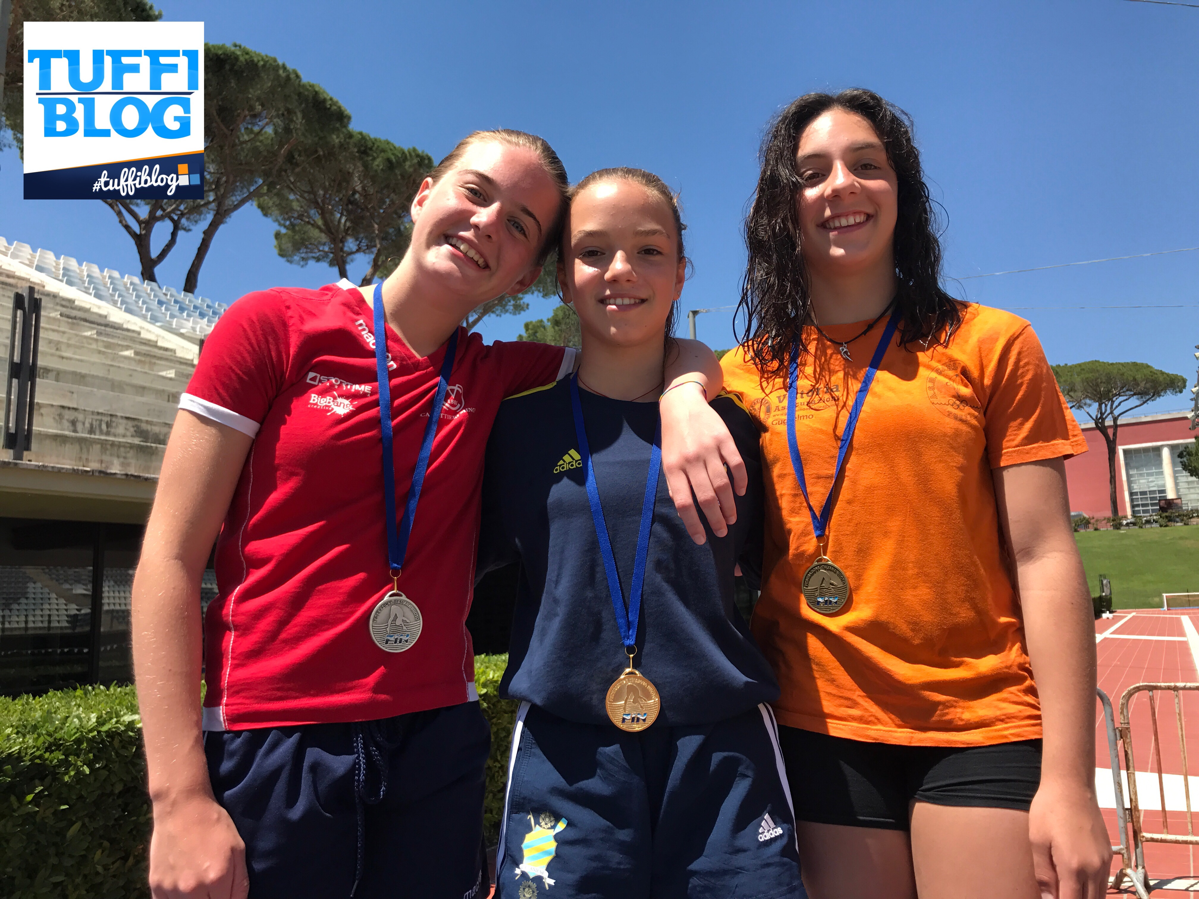 2ª Prova Trofeo Giovanissimi: Roma - la 3ª e ultima giornata.