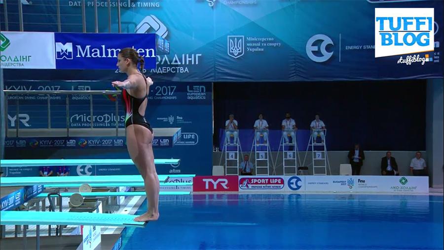#divingkyiv2017, 3m donne: Bertocchi nona, storica Heimberg!