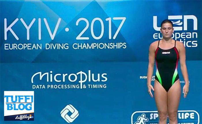 #divingkyiv2017 Eliminatoria 1m donne: Bertocchi prima, Pellacani ok!