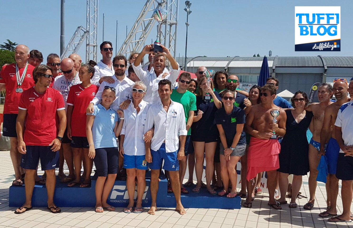 Campionati Italiani Master Estivi: Riccione - l'ultima giornata di gare.