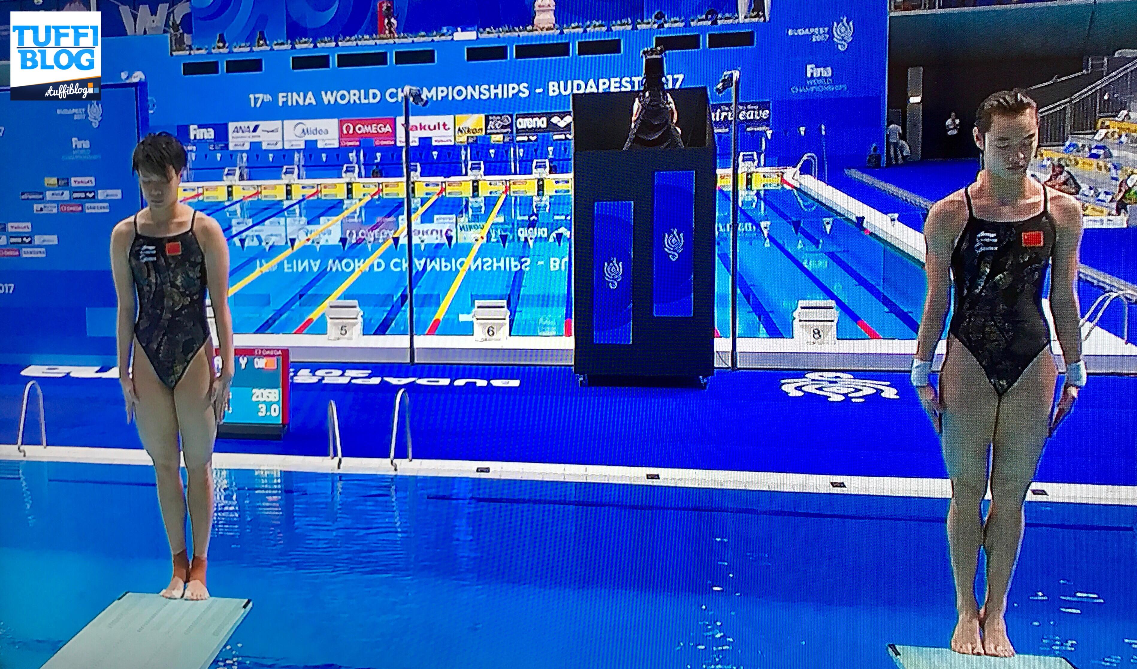Campionati Mondiali: Budapest - il primo sincro senza Tania e Francesca.