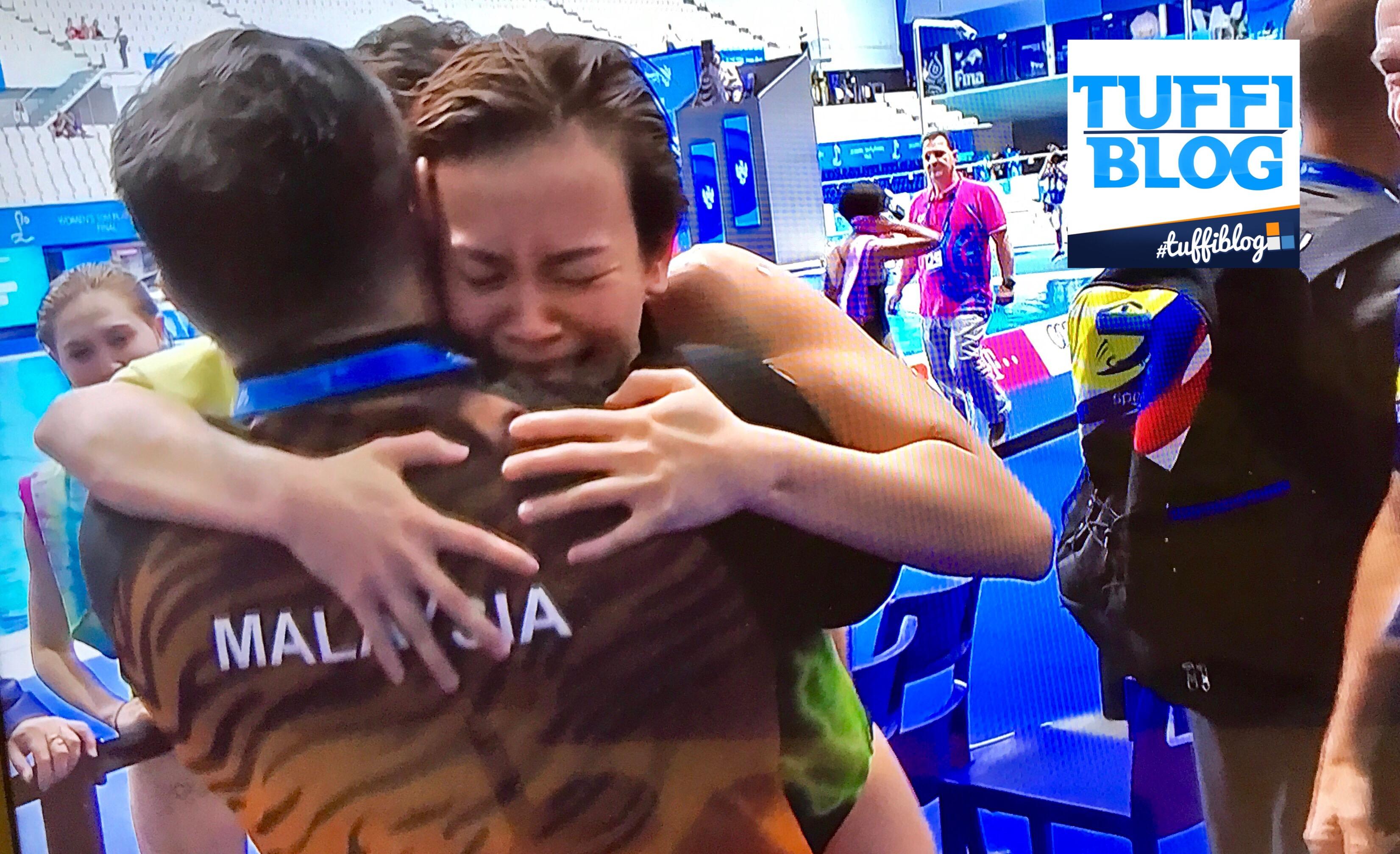 Campionati Mondiali: Budapest - Cheong, malese d'oro!