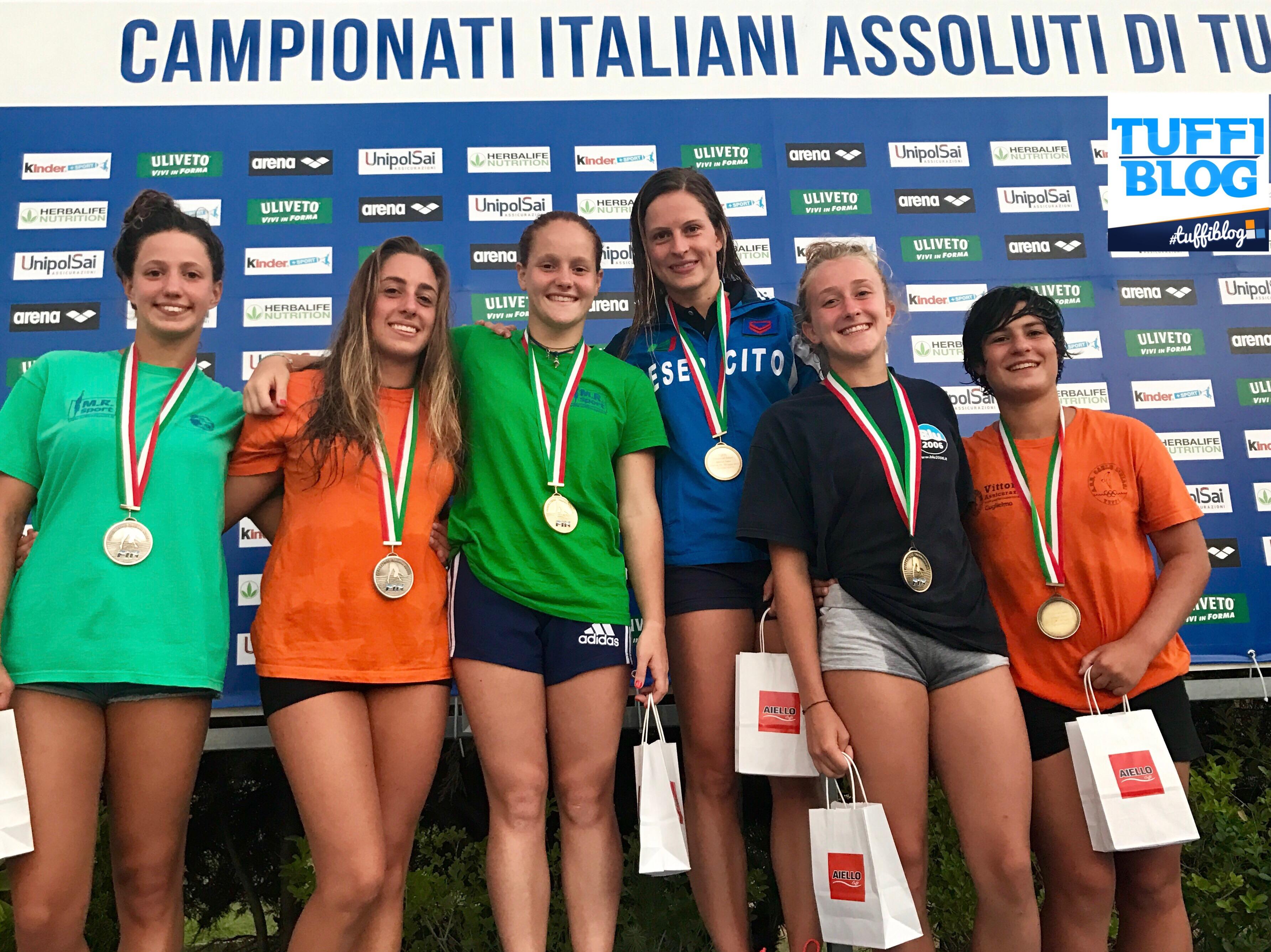 Assoluti Estivi: Cosenza - sul podio Bertocchi, Tocci, e le coppie Batki/Pellacani e Sembiante/Verzotto.