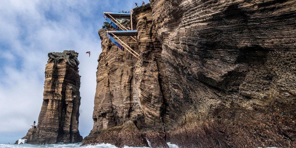 redbull world series azzorre 2017 cliff diving