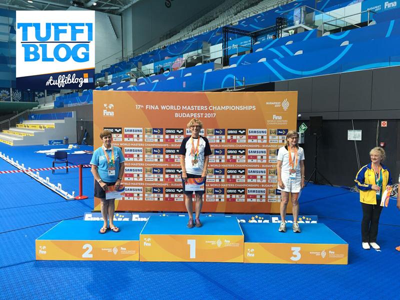 Campionati Mondiali Master: Budapest – Alison Drake al secondo oro!
