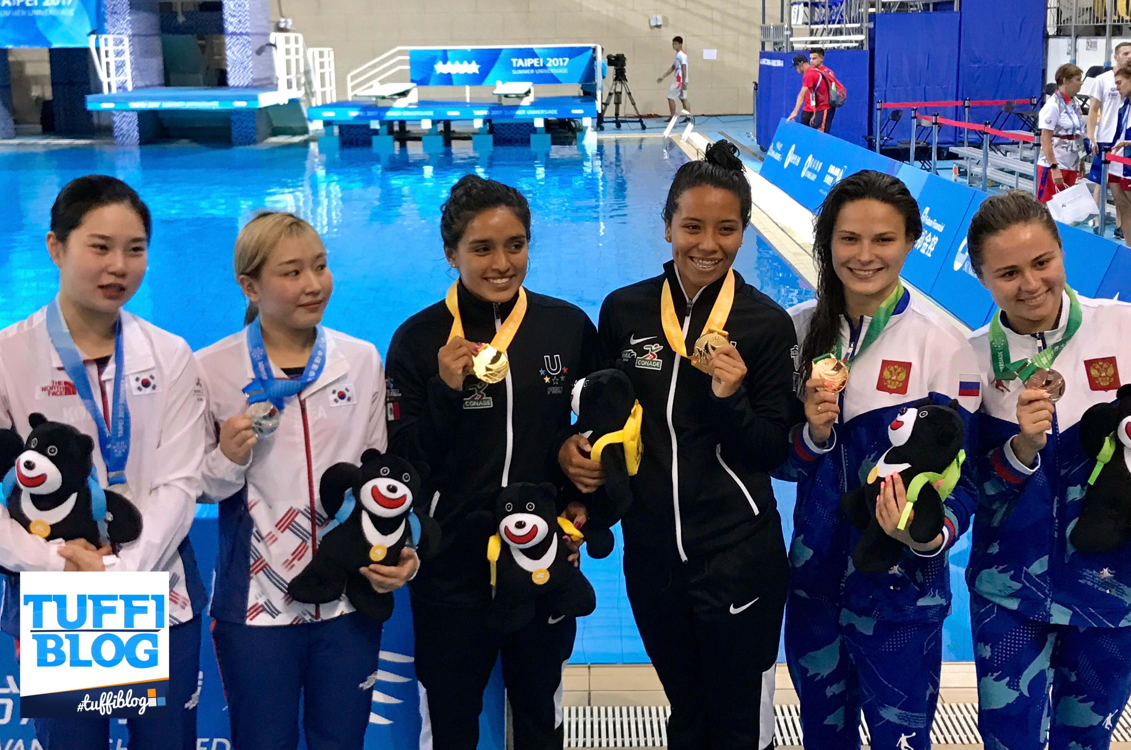 Universiadi 2017: Taipei - Alle messicane la vittoria nel sincro 3 metri.