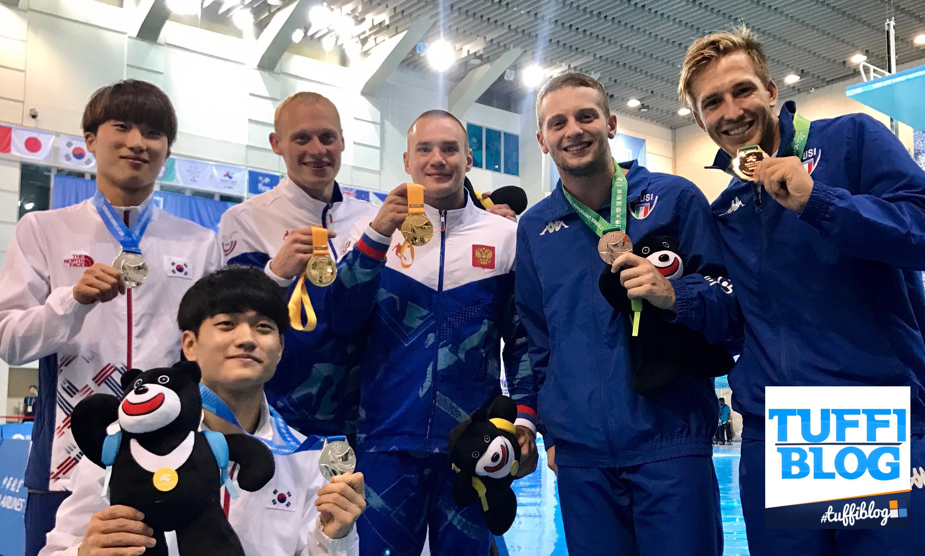 Universiadi 2017: Taipei - Marsaglia e Auber medaglia di bronzo nel sincro!