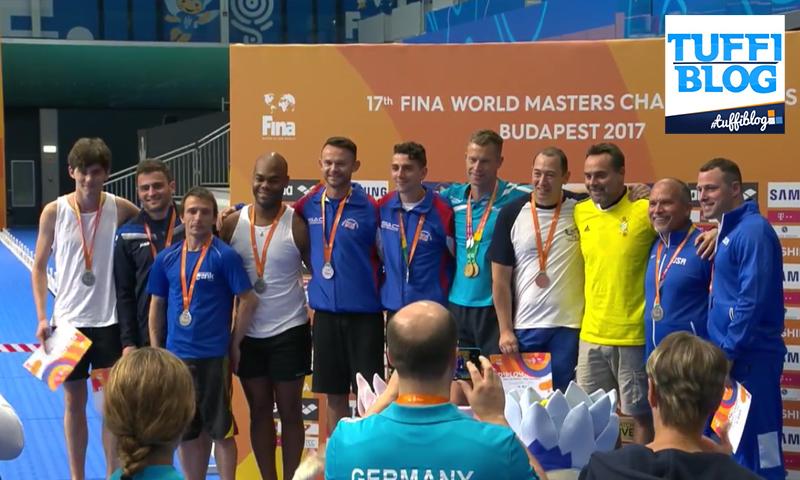 Campionati Mondiali Master: Budapest – Azzurri a medaglia anche nel sincro 10m!