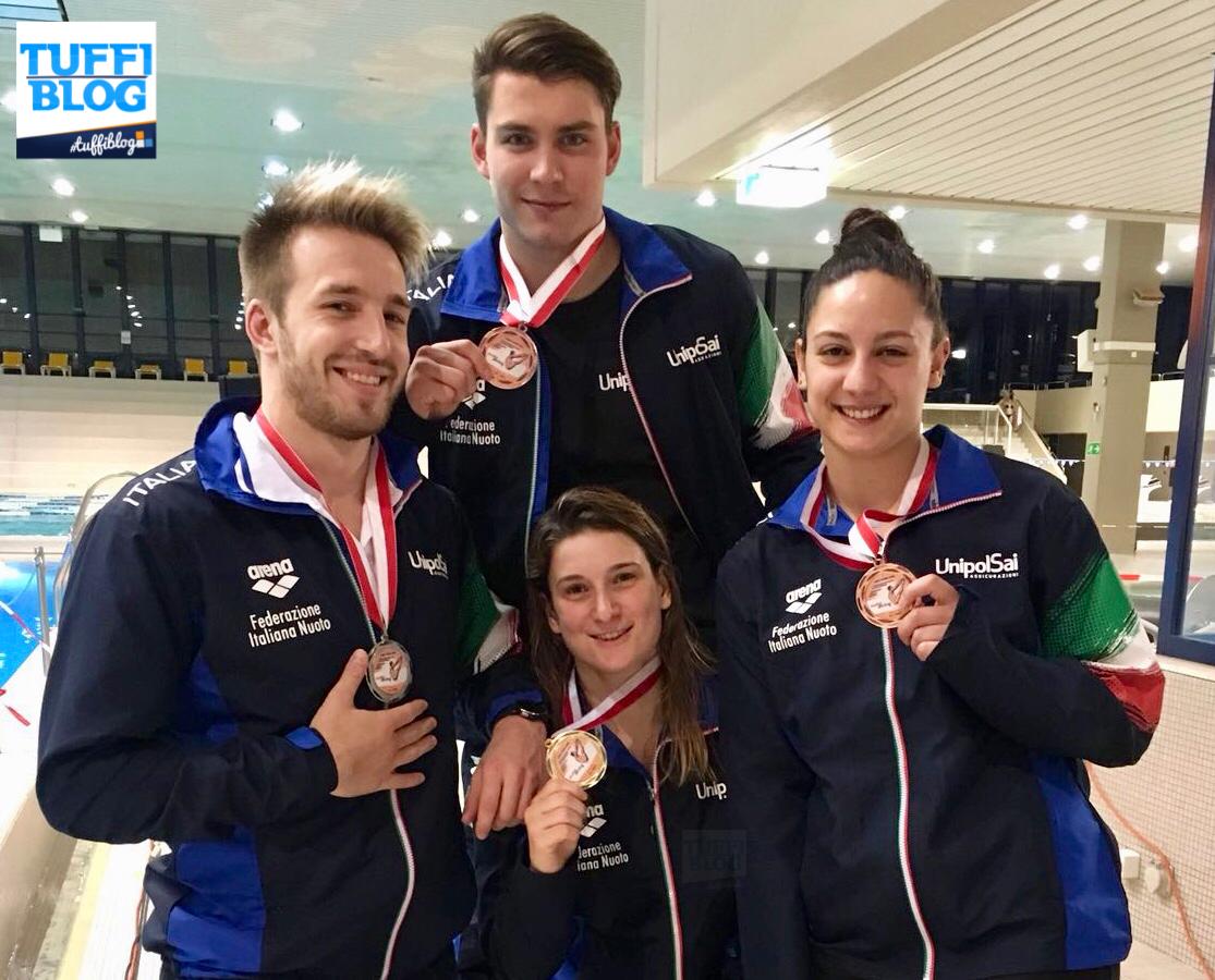 Swiss Open Championships: Zurigo - 4 medaglie per 4 azzurri!