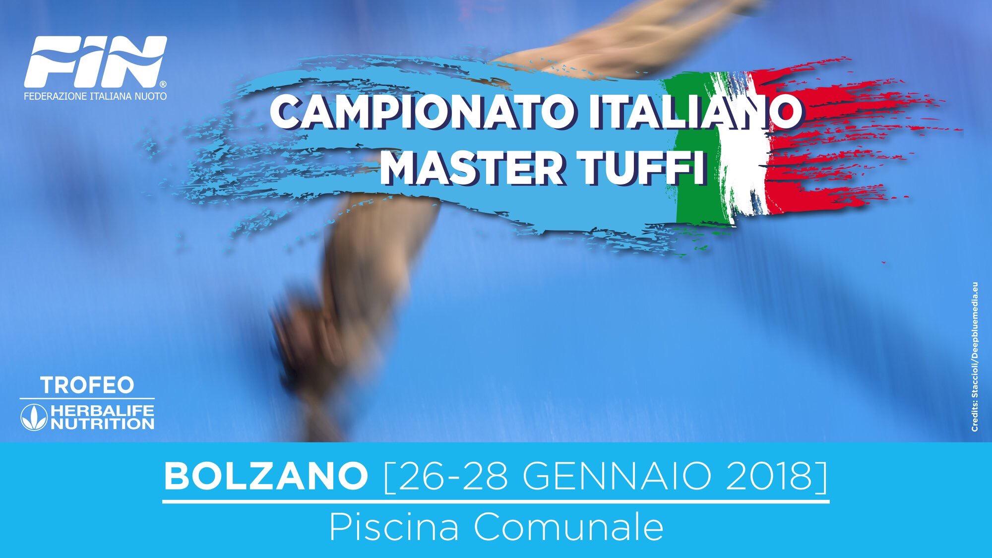 Campionati Italiani Master Indoor: Bolzano - il programma delle gare.