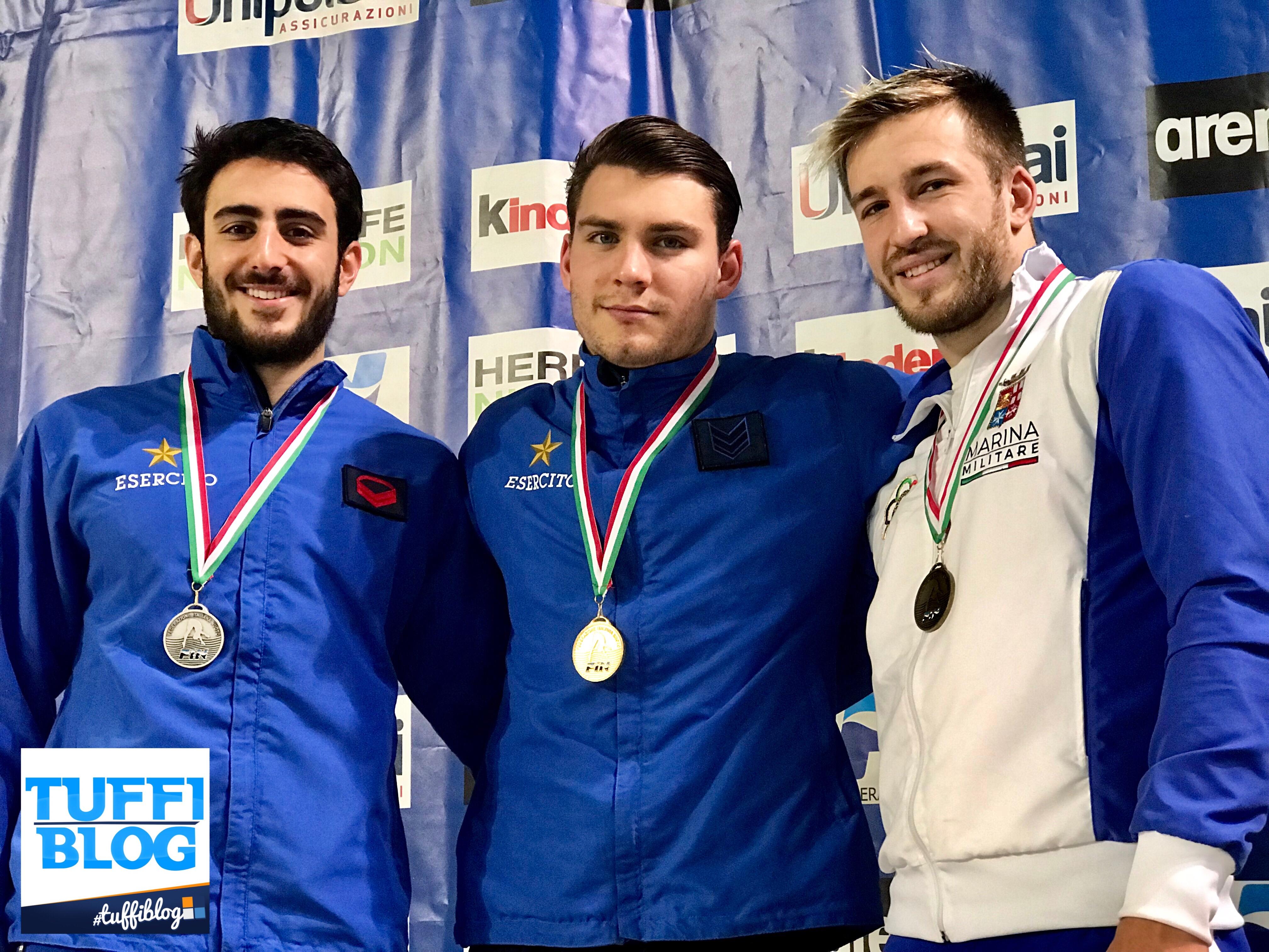 Campionati di Categoria Indoor: Trieste - Bilotta, Cristofori e Volpe in cima al podio.