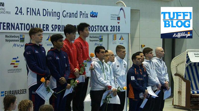 FINA Diving GP: Rostock – settimo posto per il sincro Barbu-Placidi