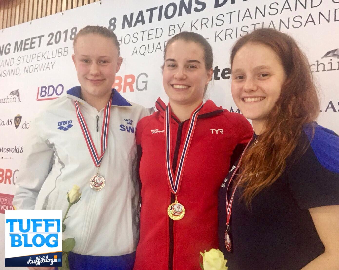 8 Nazioni Giovanile: Kristiansand - Pellacani terza da 3 metri! Tutti i video delle gare!