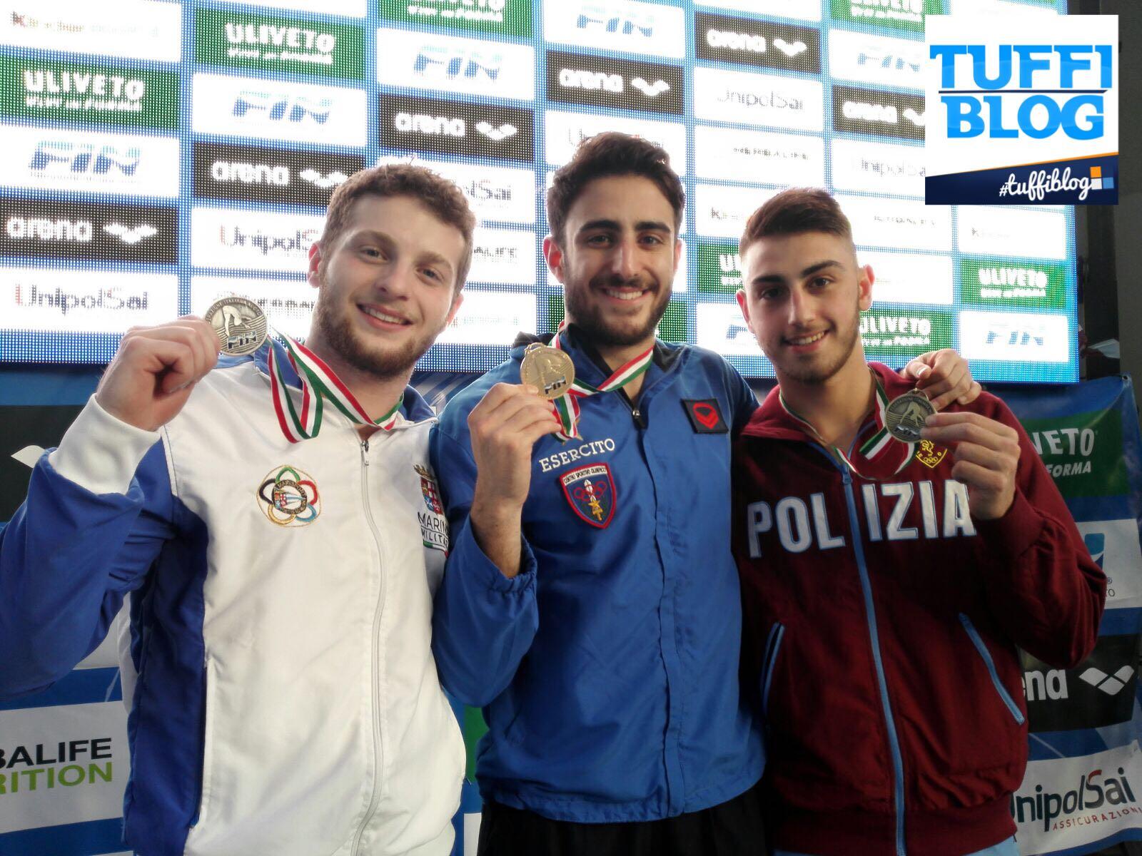 Assoluti Indoor: Torino - La prima giornata! Oro Tocci e Bertocchi (con bis in sincro con Pellacani)