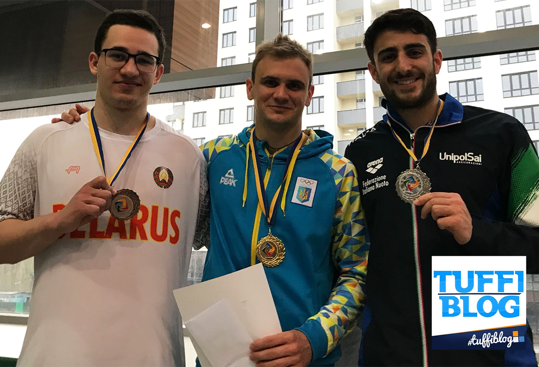 Ukrainian Open: Bertocchi d'oro, argento per Tocci e per il sincro misto