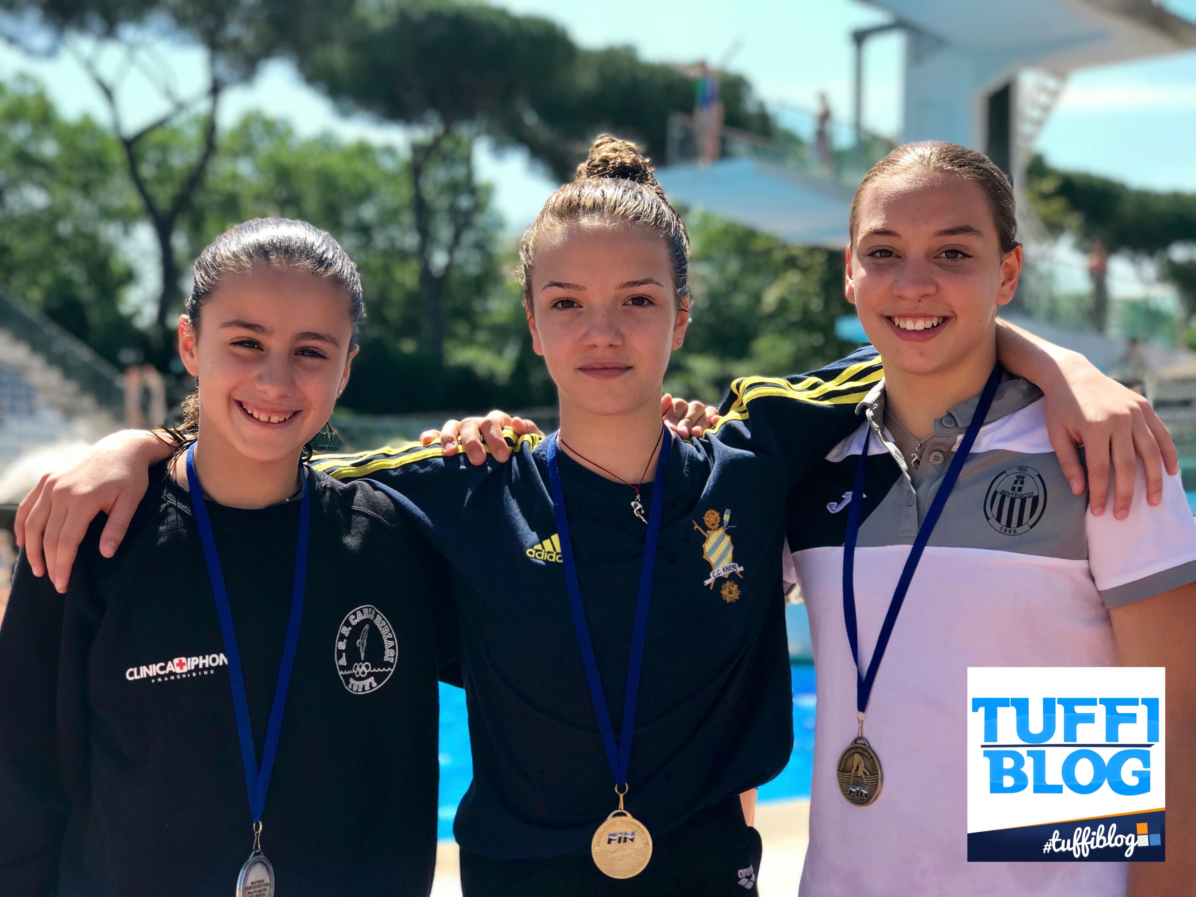 Atleti Azzurri: Roma - Vittoria a Tiberti, Cafiero e Semeria.-