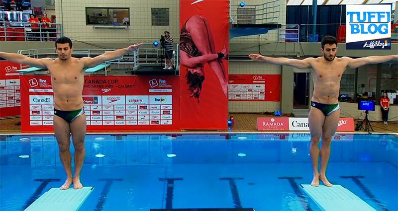 FINA Diving GP: Calgary – Tocci-Chiarabini, il sincro azzurro è sesto. Clamoroso, è oro Canada!