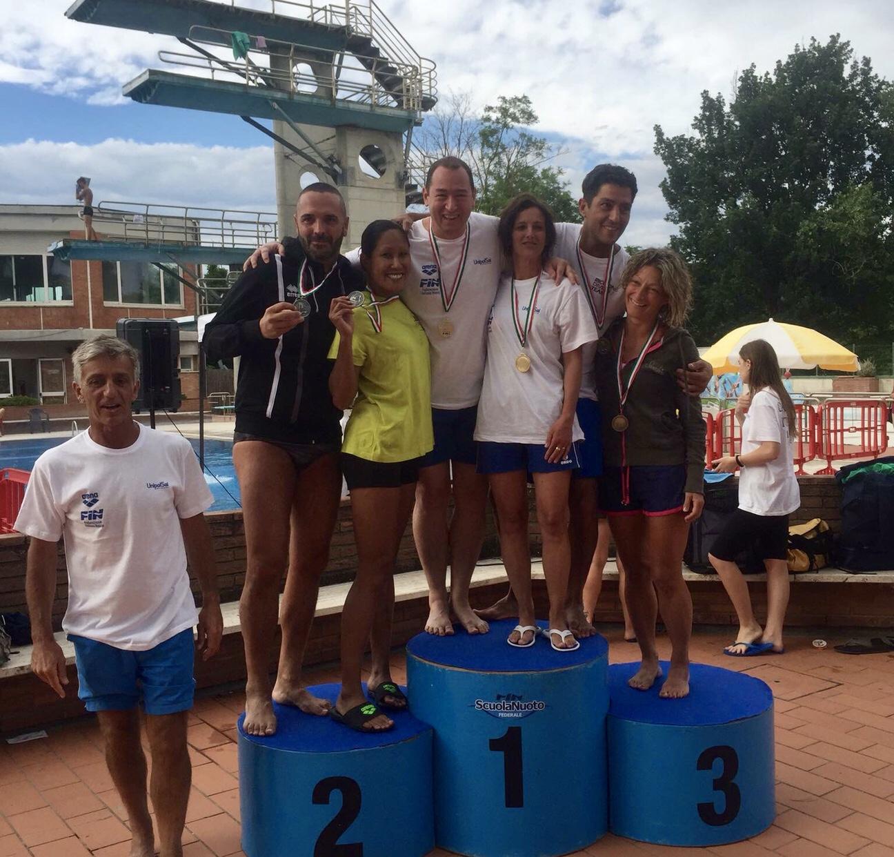 Campionati Master: Colle Val D'Elsa - i risultati della prima giornata