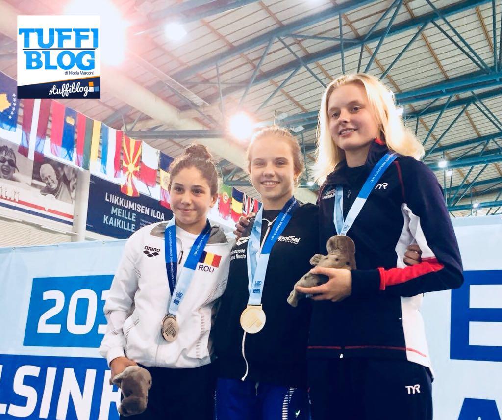 Europei Giovanili: Helsinki - Maia Biginelli campionessa d'Europa!