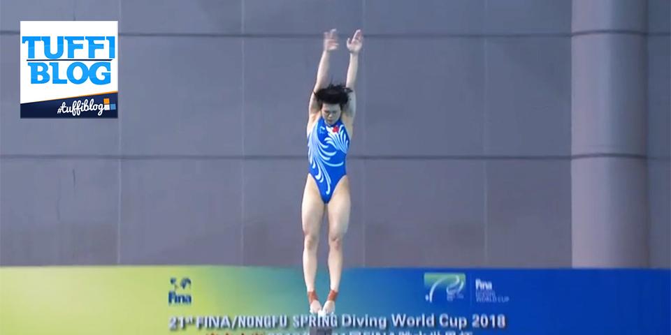Coppa del Mondo: Wuhan – finale 3 metri donne, Shi Tingmao imperatrice dei tuffi!