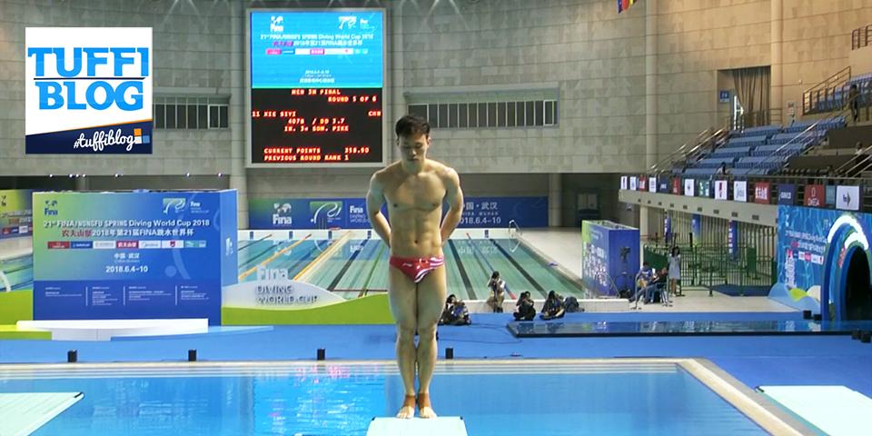 Coppa del Mondo: Wuhan – finale 3 metri uomini, cinesi stellari, rimpianto Laugher