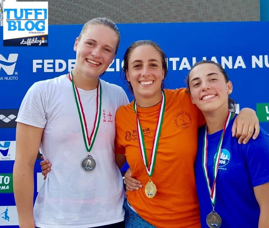Categoria Estivi: Roma - medaglie d'oro per Baraldi, Clari, D'Alessandro e Pallotta