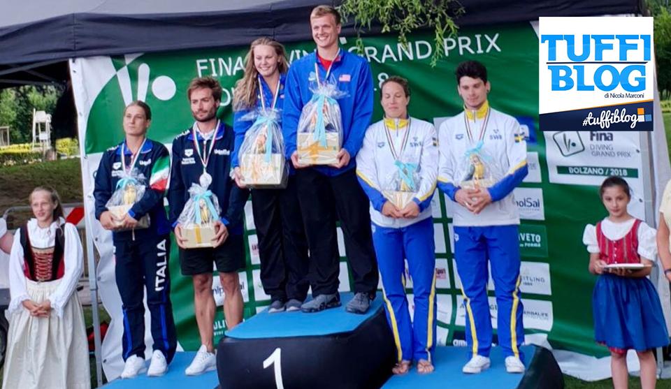 Fina GP: Bolzano – ultime finali, l'Italtuffi chiude con altre due medaglie!