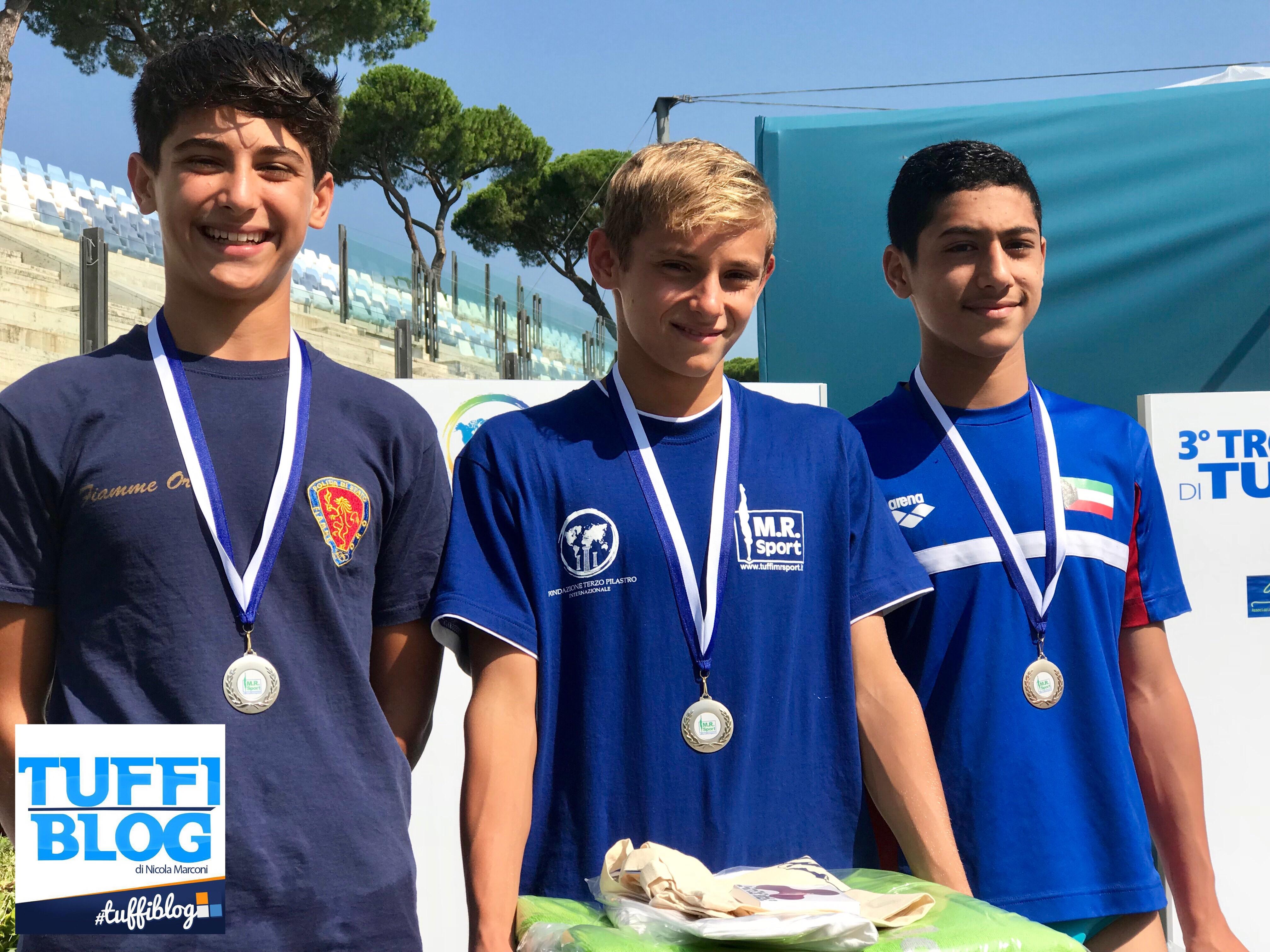 Roma Junior Diving Cup: I risultati di giovedí mattina.