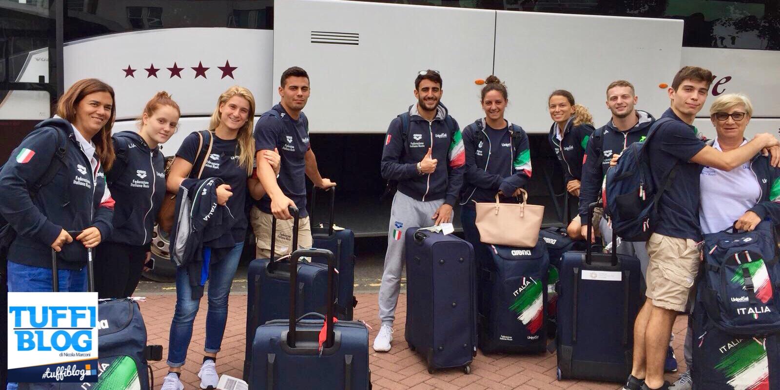 European Championships: Edimburgo - La squadra ed il programma gare.
