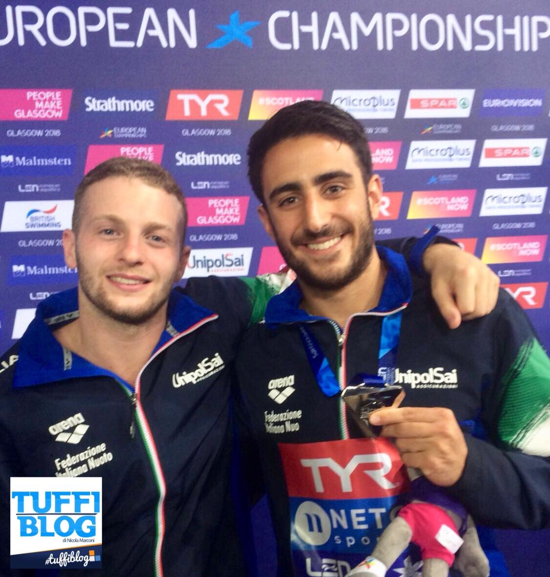 European Championships: Edimburgo - Tocci, rimonta d'argento!!