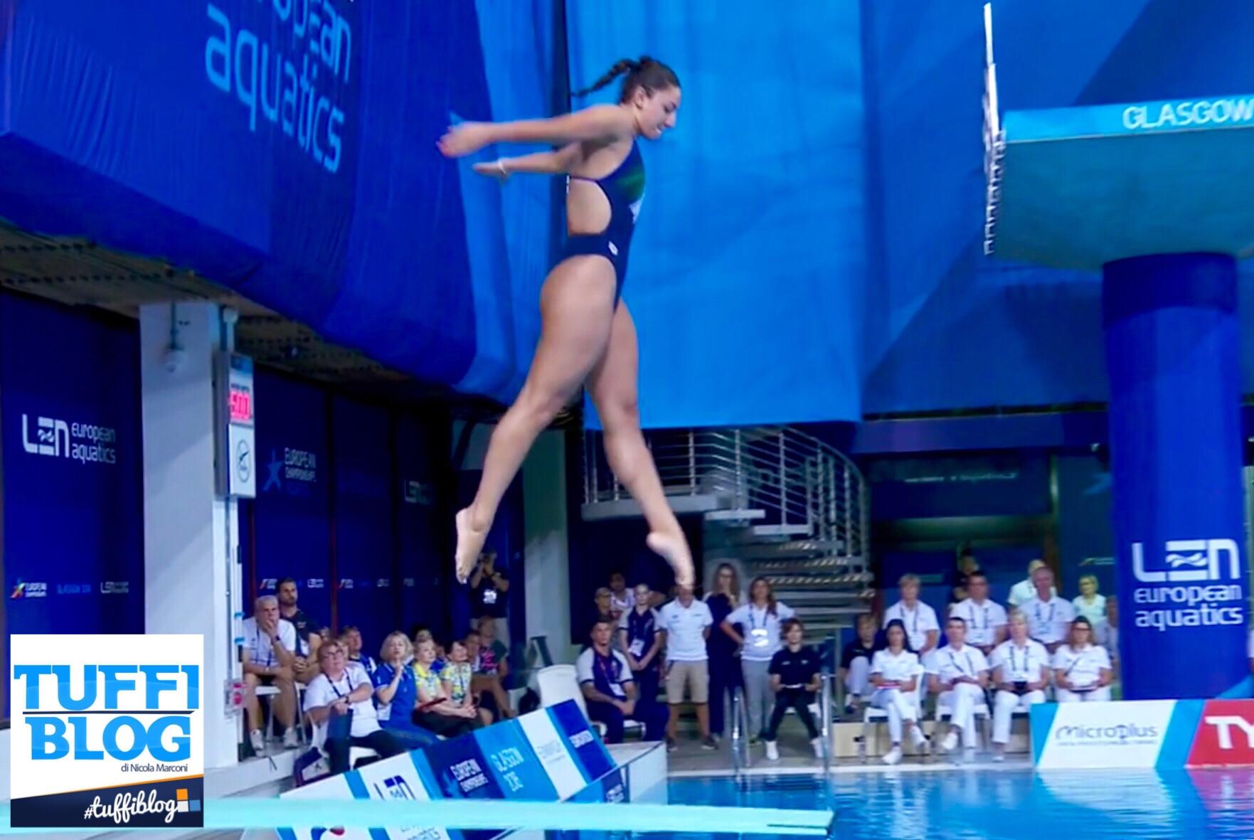 European Championships: Edimburgo - Bertocchi passa il turno, stop per la Bilotta.