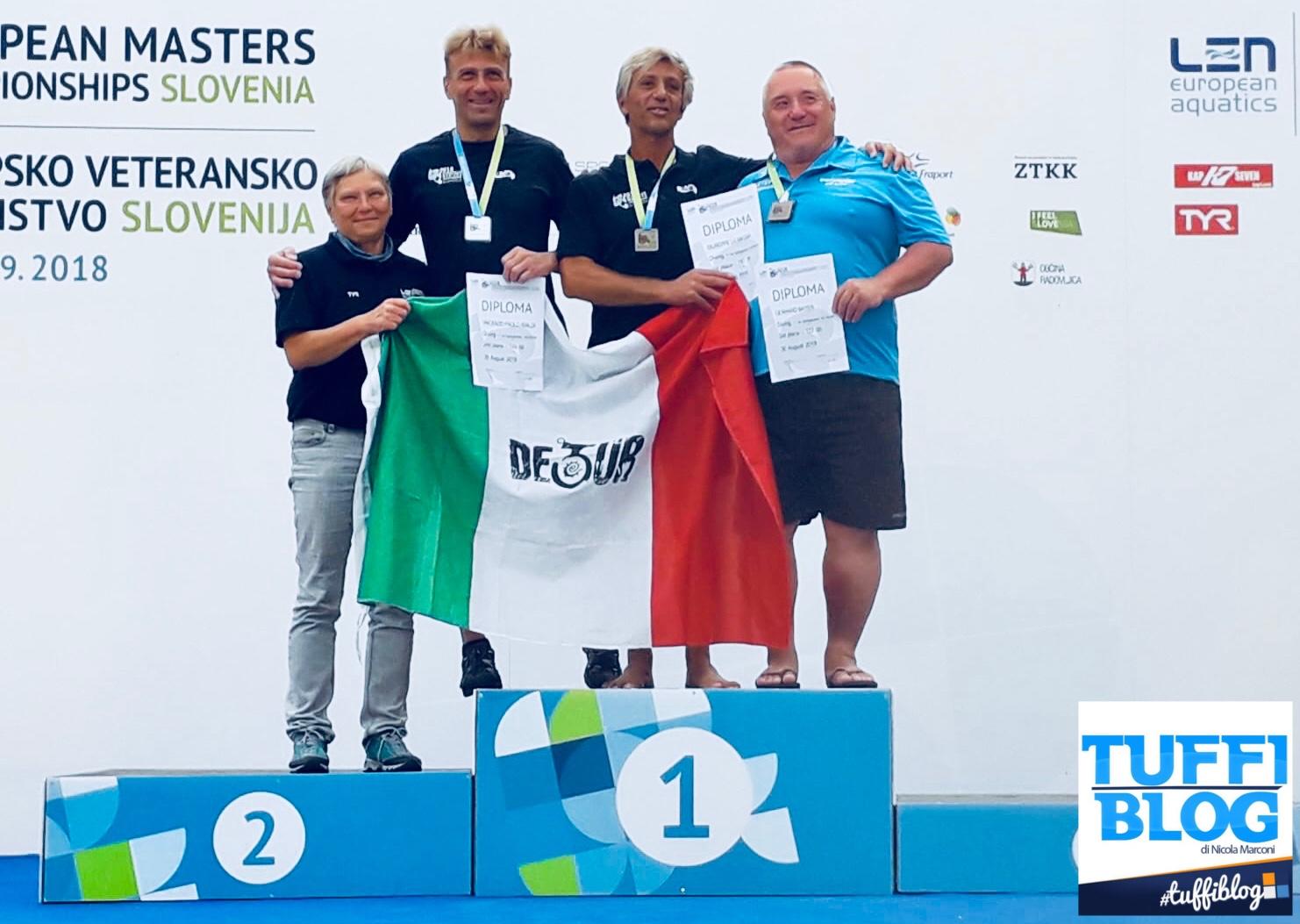 Europei Master: Jesenice - La Magna e Rialdi raddoppiano!