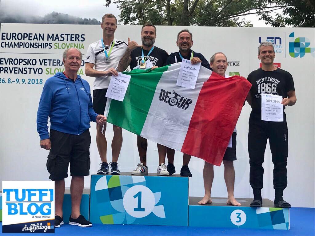 Europei Master: Jesenice - Giacometti campione d'Europa, Sassarini di bronzo!