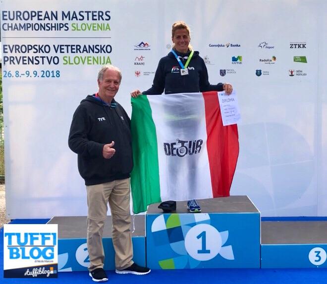 Europei Master: Jesenice - Poggi e Rialdi sul gradino piú alto del podio!