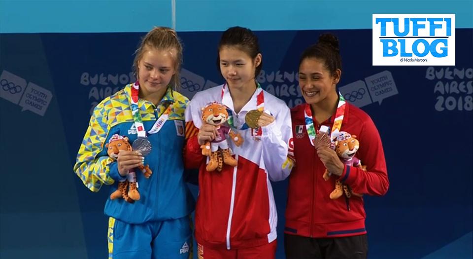 Youth Olympic Games: Buenos Aires – primo oro alla cinese Lin, sul podio Ucraina e Messico