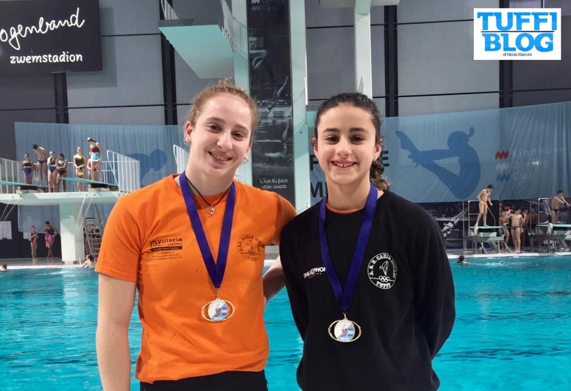 Eindhoven Diving Cup: day 1 - molteplici medaglie per le squadre italiane