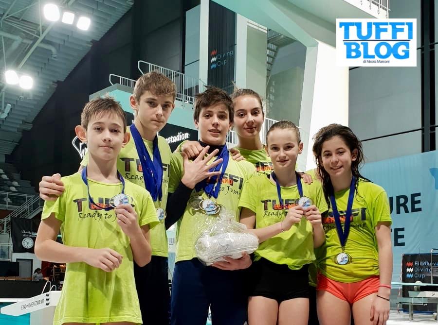 Eindhoven Diving Cup: day 3 - pioggia di medaglie azzurre nella terza giornata