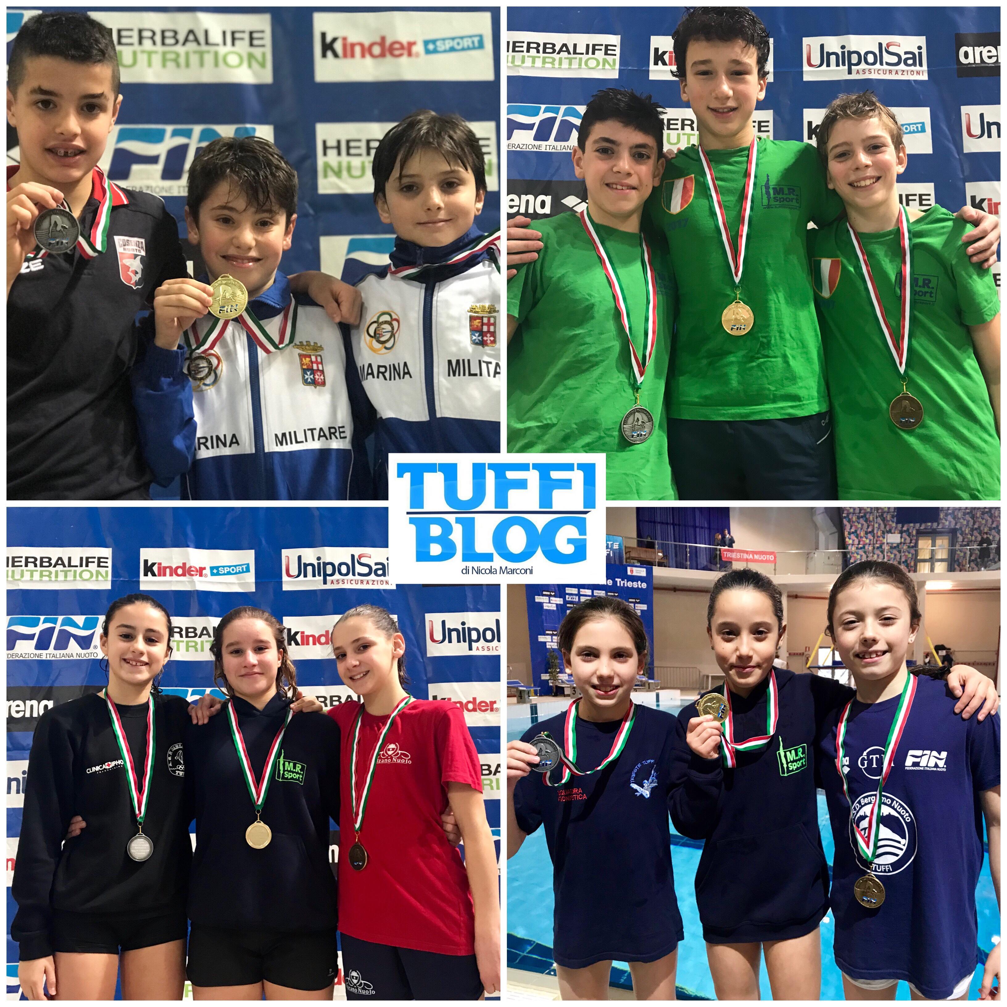 Prima Prova Nazionale Giovanissimi: Trieste - terza giornata, tutti i risultati