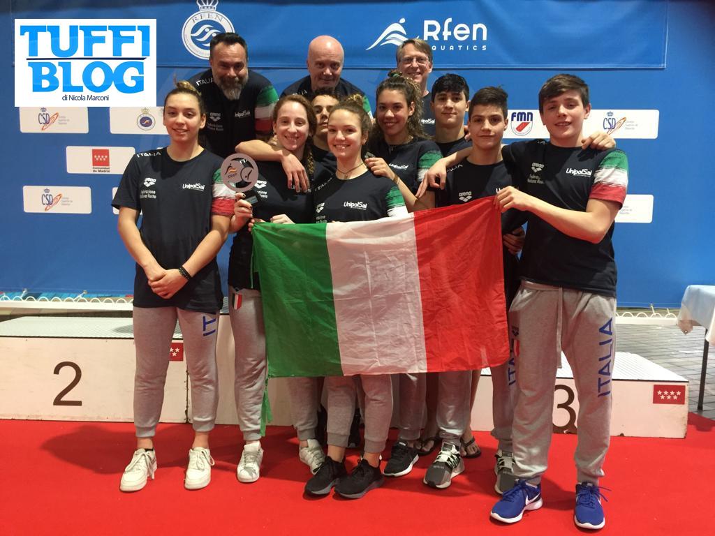 8 Nazioni giovanile: Madrid - l'Italtuffi chiude seconda in classifica generale!