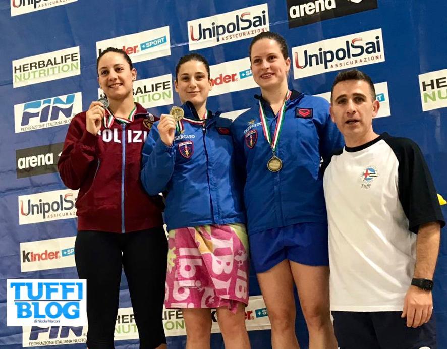 Categoria Indoor: Trieste - Bertocchi bissa, ori per Giovannini e Murianni