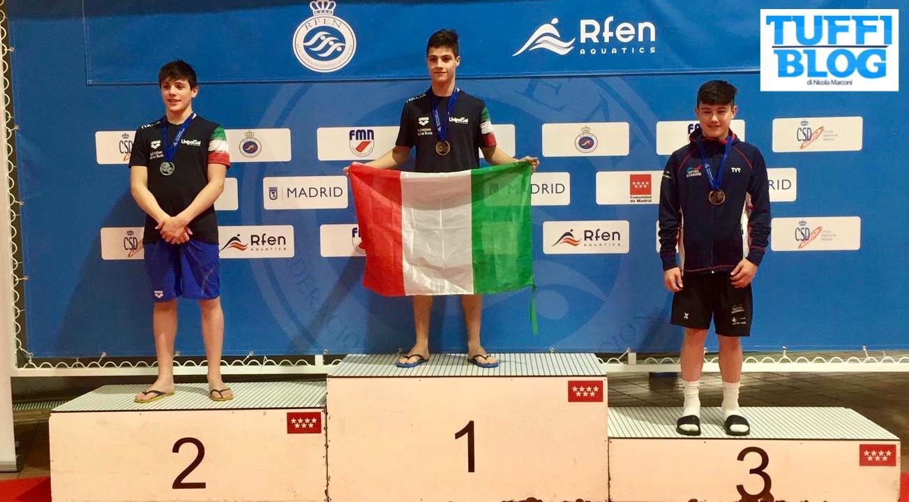 8 Nazioni Giovanile: Madrid - Cafiero e Belotti due volte a podio!