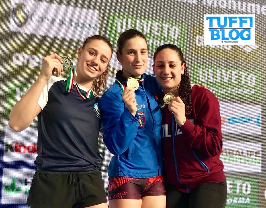 Assoluti Indoor: Torino - i podi della seconda giornata: Bertocchi e Marsaglia super!