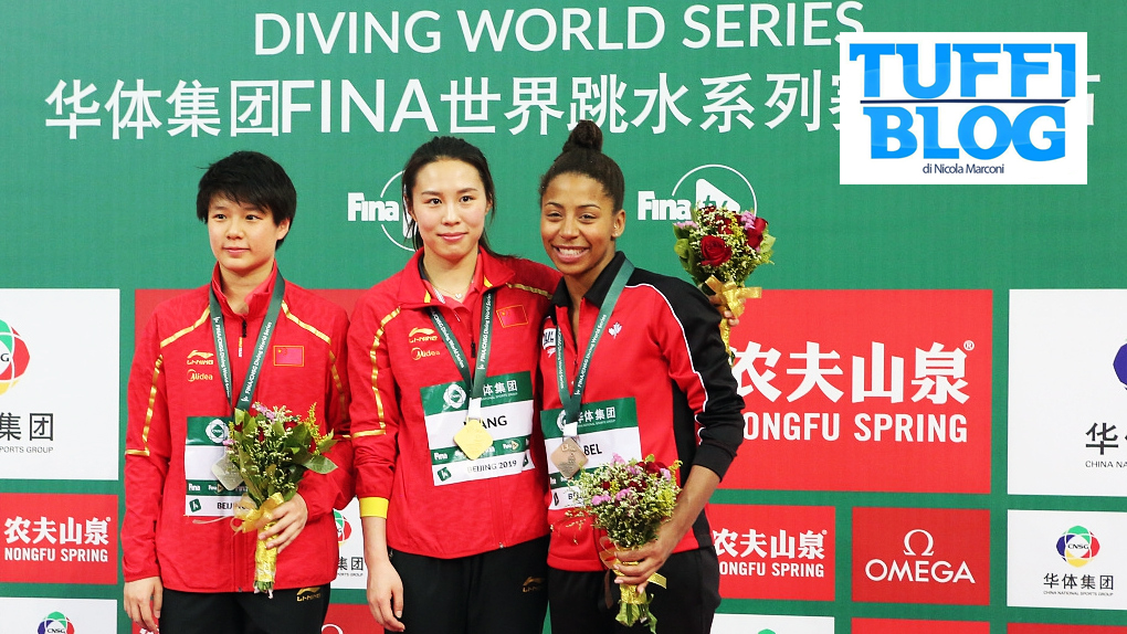 FINA Diving World Series: Beijing - Cina pigliatutto, Shi Tingmao prima sconfitta in sei anni!