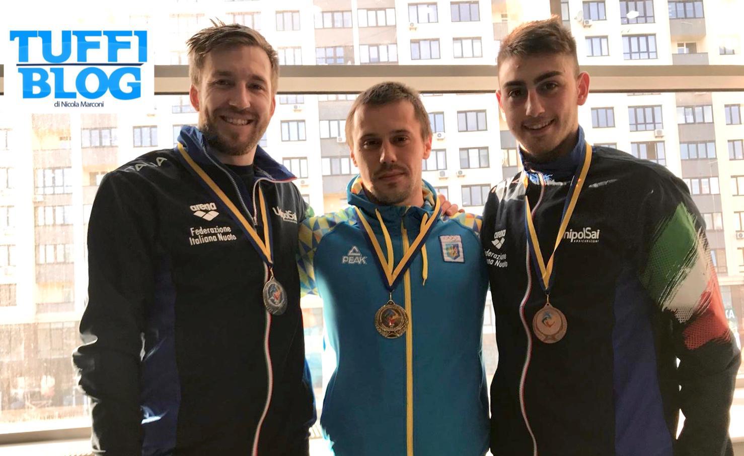 Ukranian Open: Kyiv - doppietta azzurra da 1 metro: argento per Auber, bronzo per Porco!