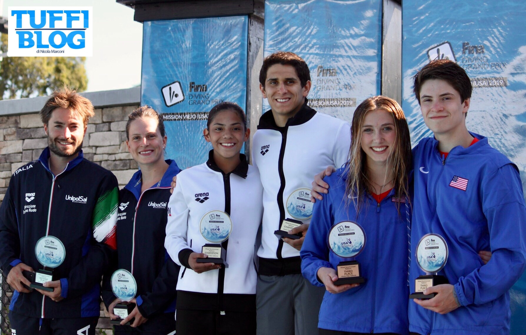 FINA Diving Grand Prix: Stati Uniti – Batki-Verzotto, secondo argento Italia! Quinti Marsaglia-Tocci