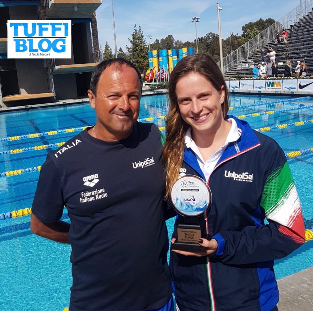FINA Diving Grand Prix: Stati Uniti – Il bronzo di Noemi Batki è la quarta medaglia azzurra!