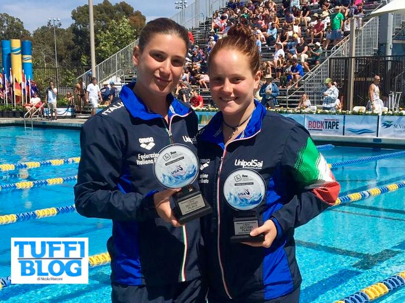 FINA Diving Grand Prix: Stati Uniti – terza medaglia Italia, Bertocchi-Pellacani d'argento