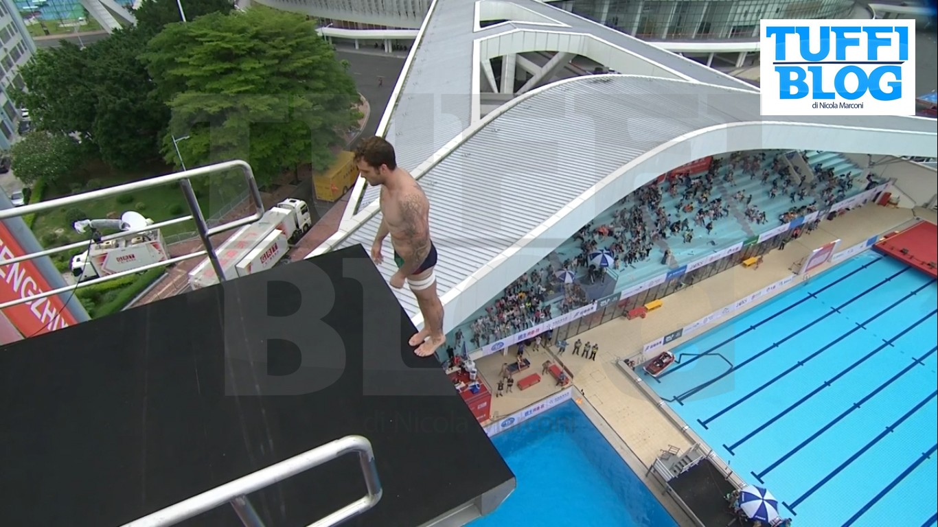 FINA High Diving World Cup: Zhaoqing – Hunt ancora campione, quinto posto De Rose