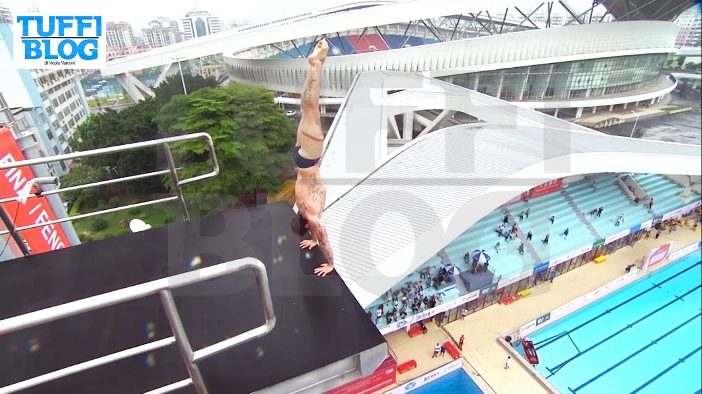 FINA High Diving World Cup: Zhaoqing – I risultati della prima giornata, De Rose secondo dopo due tuffi!
