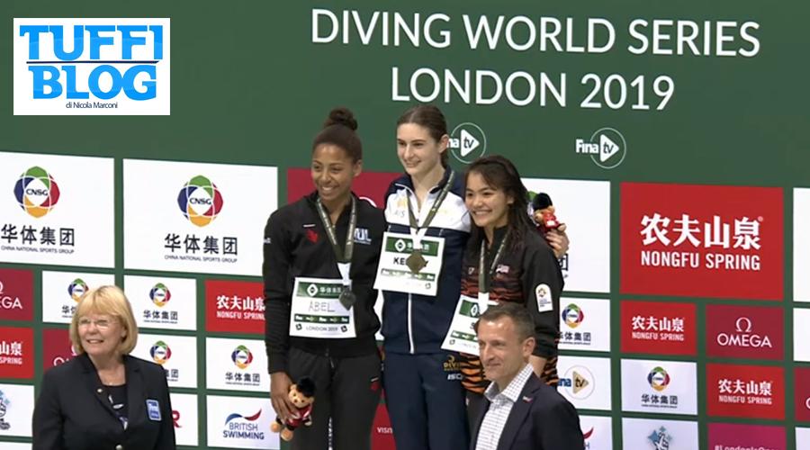 FINA Diving World Series: Londra – gli altri risultati del weekend: la Cina (delle riserve) è più vicina